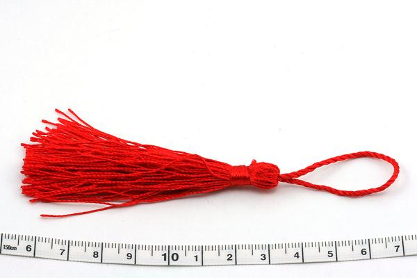 Kvast 13,5 cm rød