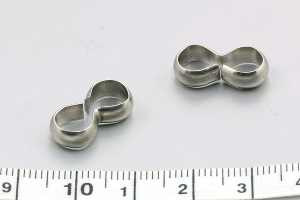 Rustfri stål connector 17x8,5x4 mm