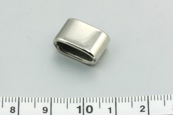 Rustfri stål led hul ca.8 x 4 mm