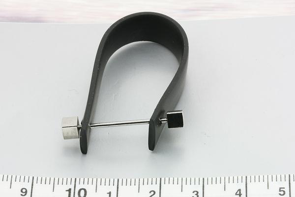 Fingerring gummi med pin