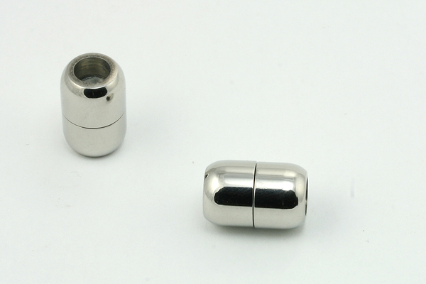 Rustfri stål lås tromme 5 mm hul