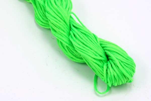 Knyttesnor grøn 1,0 m/m Nylon bdt.30 mtr