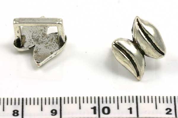 Charm hul 10x7 mm blad