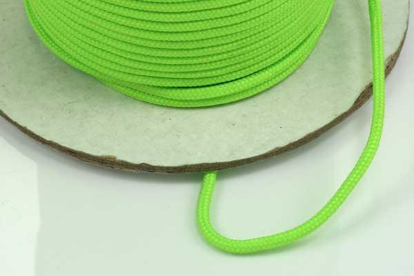 Faldskærmsline 2 mm Neongrøn
