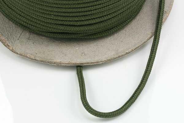 Faldskærmsline 2 mm Armygrøn