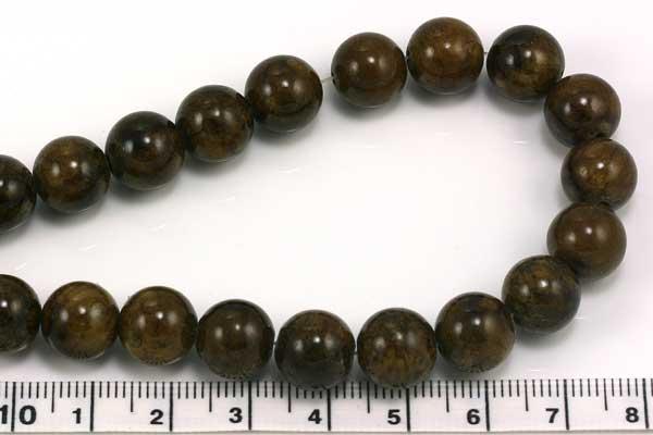 Mashan jade Bronze 10 mm
