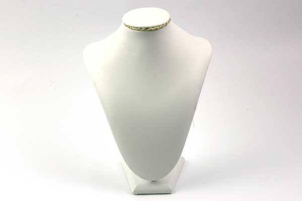 Display for halskæde hvid