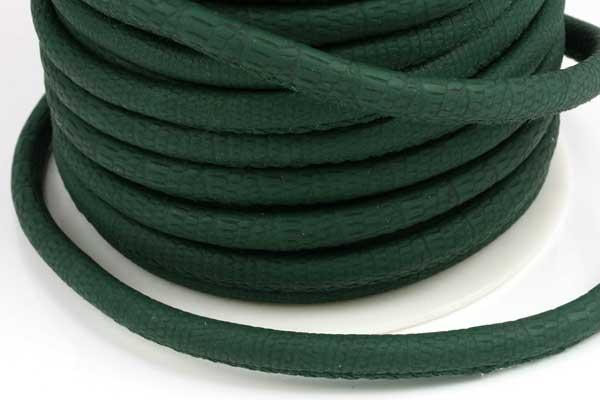 Imiteret Krokodille 6 mm grøn