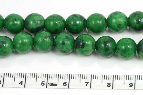 Malakit rund grøn 10 mm