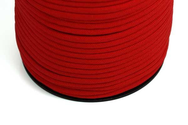 Faldskærmsline 4 mm Rød