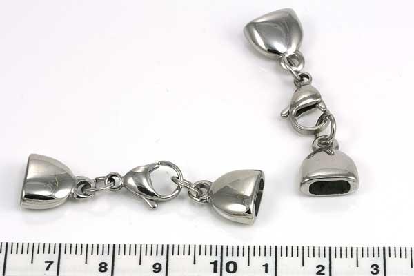 Rustfri stål lås hul 7,5x3,5 mm