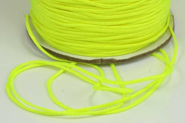 Nylonsnøre 1,0 mm neon gul