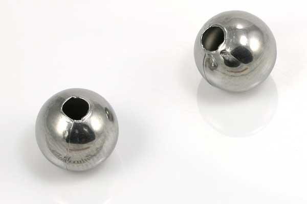 Rustfri stål perle 10 mm