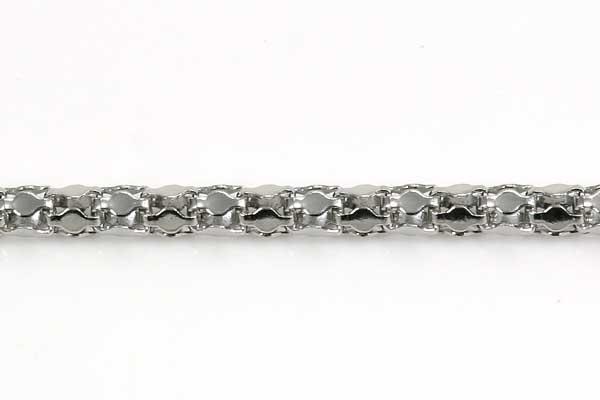 Rustfri stål kæde 2 mm