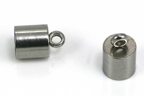 Enderør rustfrit stål 6 mm hul