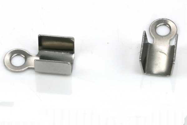 Rustfri stål klemmedup 10x4,5 mm 10 stk