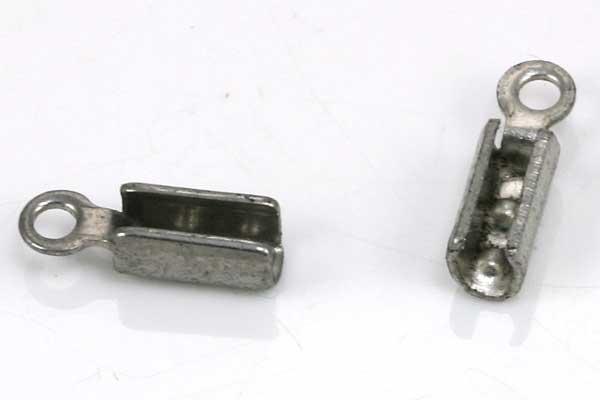 Rustfri stål klemmedup 10x3,5 x 3 mm 10 stk