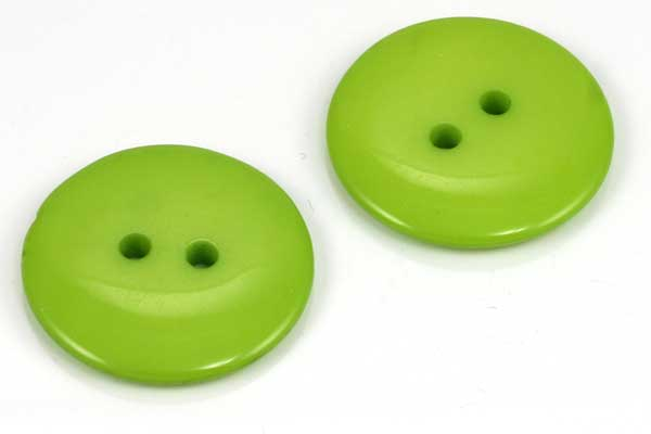 Knap 23 mm grøn