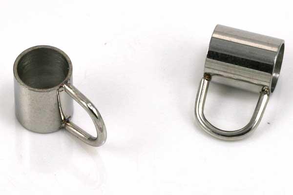 Rustfri stål led med loop 5 mm hul