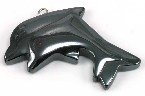 Hematit Delfin 38x35 mm