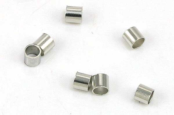 Wireklemmer 100 stk -  2,5 x 2 mm rund 1,5 mm indeni