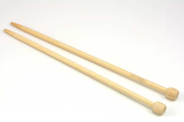 Strikkepind nr.2 bambus