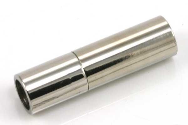 Rustfri stål cylinderlås hul 6 mm