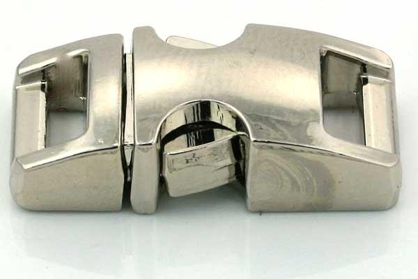 Lås til faldskærmsline aluminium Lille