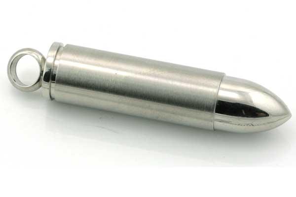 Rustfri stål Vedhæng 49x10 mm