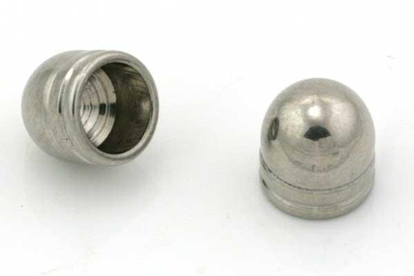 Rustfri stål enderør 6 mm hul