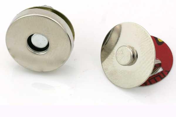 Magnetlås til taske 18 mm 1. sæt