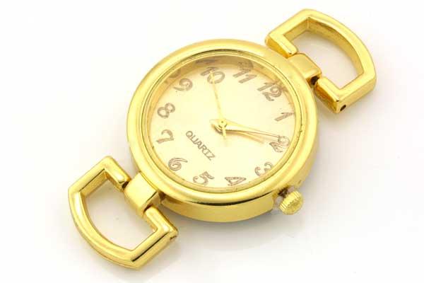 Smykkeur guld 25mm