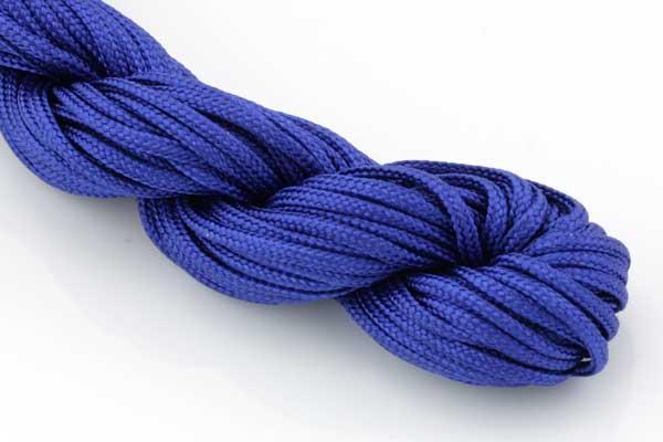 Knyttesnor Blå 2,0 m/m Nylon