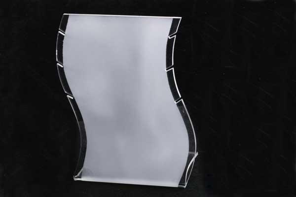 Smykke display klar acryl/frosted