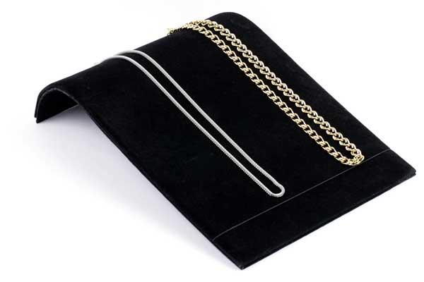 Bakke til smykker - Sort Fløjl