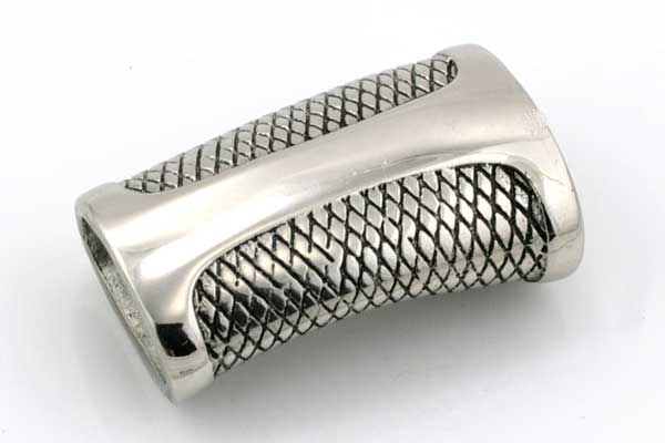 Rustfri stål lås 6x12 mm hul