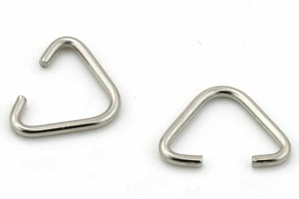 Rustfri stål connector 10 x 13 mm