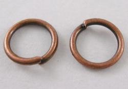 O-ring 8,4 mm hul Kobber farvet 100 stk