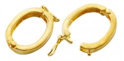 Twisterlås gold color