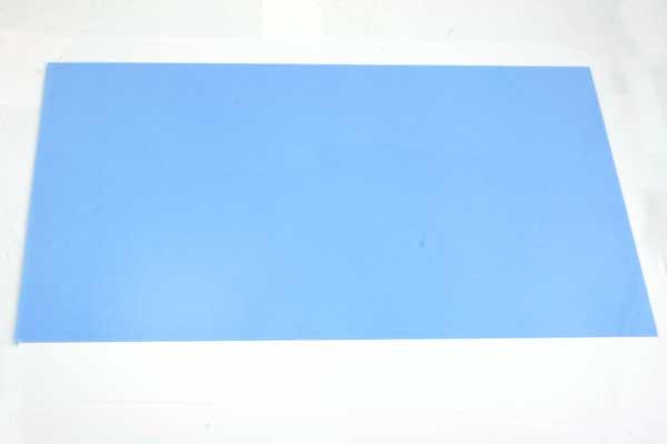 Krympeplast ark Blå 29x20 cm