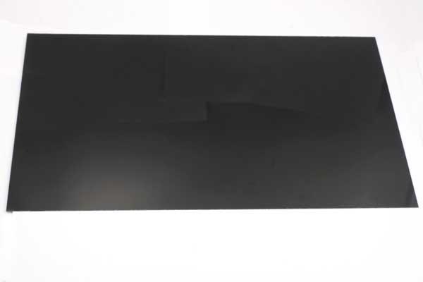 Krympeplast ark Sort 29x20 cm