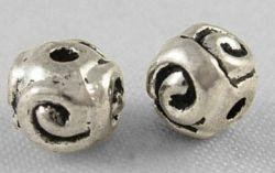 Tibetanske sølv perler Silver