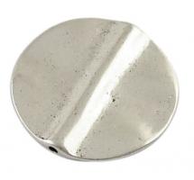 Tibetansk sølvperle 26,5 mm
