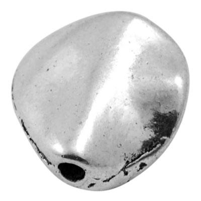 Tibetanske sølv perler 10 stk