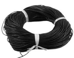 Lædersnøre sort 1,5 mm
