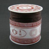 Knyttesnor Brun 1,0 m/m  Nylon