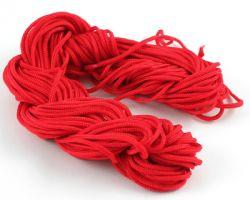 Knyttesnor rød 1,0 m/m  Nylon