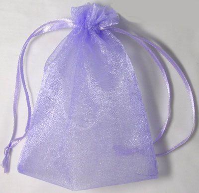 Organza pose Lavendel 10 x 12 cm