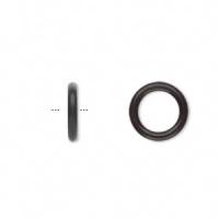 O-ring gummi sort 8 mm hul 20 stk