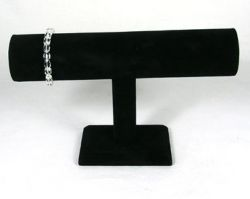 Armbånd display sort fløjl